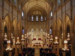 Église à Noël