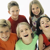 Enfants souriants