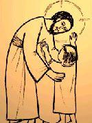 Jésus et enfant