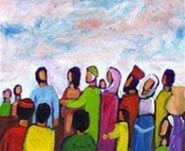 Jésus et la foule