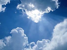 Ciel - Rayons de soleil