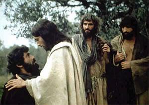 Jésus, Pierre et disciples