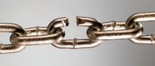 Rupture de chaîne