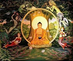 Les tentations de Bouddha