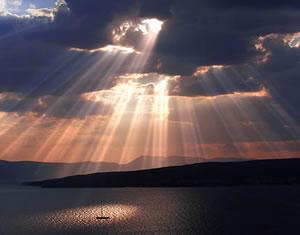 Barque - Rayons de soleil