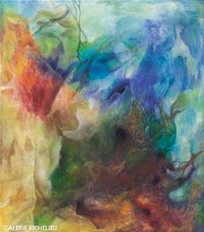 Chantal De Serres - Aux profondeurs - www.galerierichelieu.com