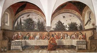 Domenico Ghirlandaio. Dernière Cène