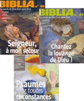 """Image de 3 revues """"Biblia"""""""