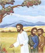 Jésus et disciples