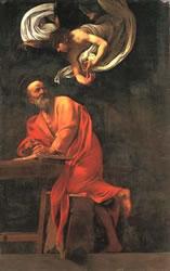 Caravage - L'Évangéliste Matthieu