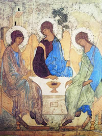 Sainte Trinité d'André Roublev