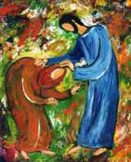 Christ pauvre et aimant