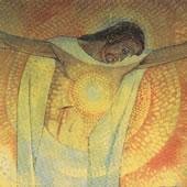Cœur du Christ en croix