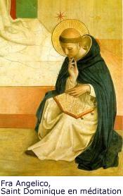Fra Angelico, Saint Dominique en méditation