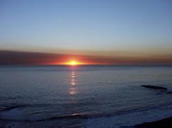 Horizon - Coucher de soleil