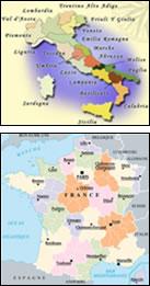 Italie et France