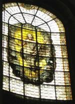 Jésus ressuscité - Vitrail