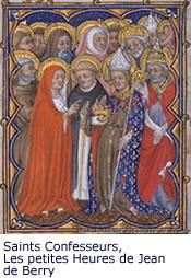 Saints Confesseurs, Les petites Heures de Jean de Berry