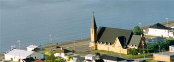 Église à Mont-Louis, Gaspésie