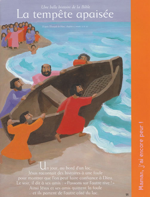 Une belle histoire de la Bible: La tempête apaisée
