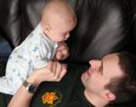 Père et nourrisson