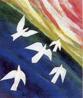 Colombes - Symbole de l'Esprit