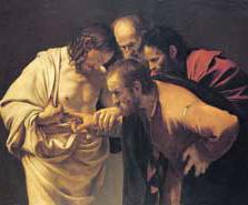 Jésus ressuscité et apôtres