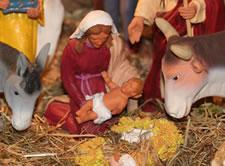 Marie - Jésus - Animaux