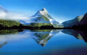 Montagne - Reflet