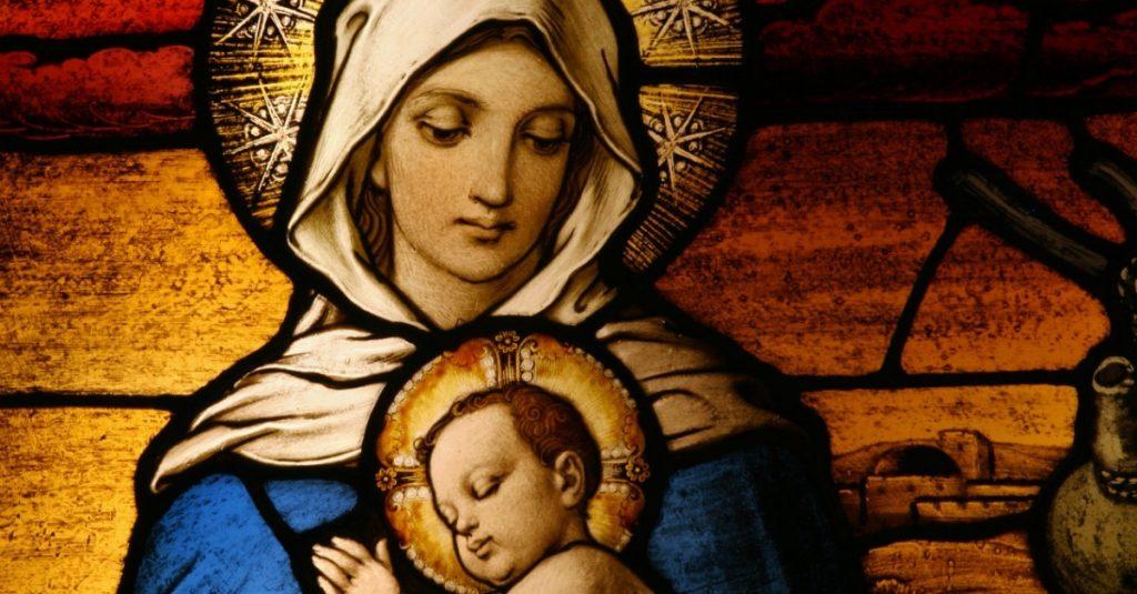 Sainte Vierge Marie et Jésus