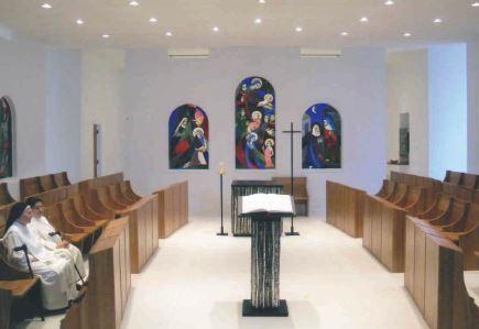 Chapelle des moniales dominicaines - J. Houle