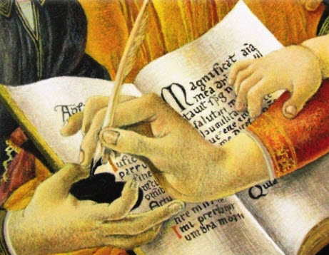 Manuscrit - Écriture