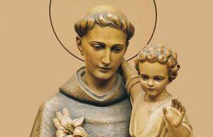 Saint Antoine de Padoue en Enfant Jésus