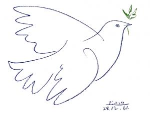 Pablo Picasso - Colombe de la paix (1961)
